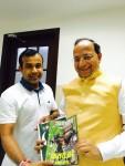 Presented latest issue of uday India to bjp national general secretary & odisha bjp prabhari shri Arun singh ji at bjp head office Delhi.
