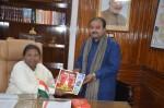 Presented issue of Uday India to Hon'ble Governor of Jharkhand Draupadi Murmu ji.