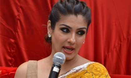 Raveena a perfect 'Grehlakhsmi'