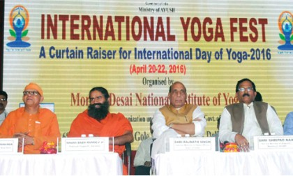 """Yoga has Universal Appeal"""