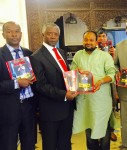 Presented a copy of Uday India to H E Hamilton O Orata, Deputy Governor, Republic of Kenya