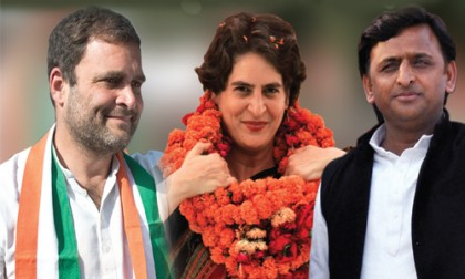 """Son of the Soil"" doctrine  A Virtue for Rahul-Congress in UP, Sin for others in Maharashtra"