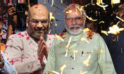 It's Modi…Modi, Amit Shah, and BJP