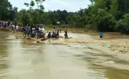 Flood situation remains grim in Assam; Central team to take stock of situation