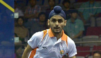 India's Harinder Pal Sandhu wins Victorian Open squash tournament
