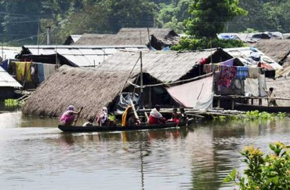Over 17 lakh people affceted by current wave of floods in Assam
