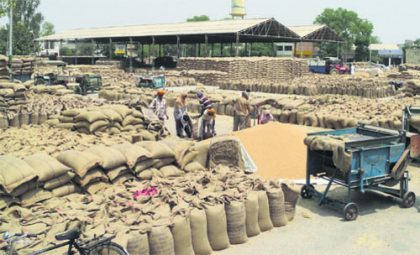 Rice procurement estimated 375 lakh tonnes during 2017-18