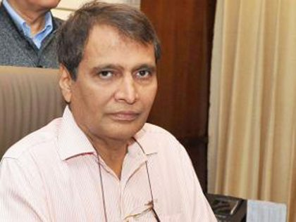 Railway trying to reach parameter of 200 km per hour speed on Mumbai-Delhi, Delhi-Kolkata routes: Suresh Prabhu