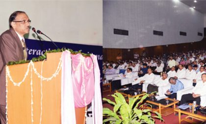 Chairman SAIL emphasises on matching operations with industry benchmarks during his Bokaro visit