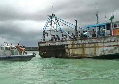 77 Indian fishermen released from Sri Lankan jail returned home
