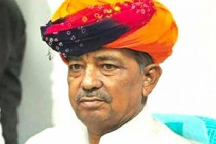 BJP MP from Ajmer & former Union minister Sanwar Lal Jat passes away