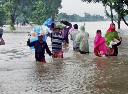 Flood situation remains grim in Bihar; 37 districts hit by flood in UP