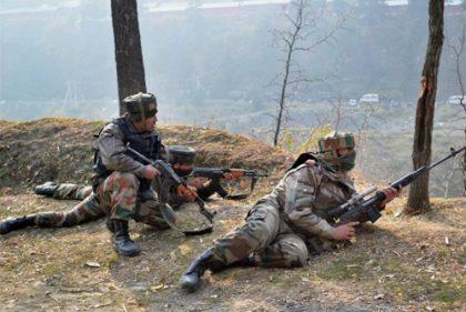 2 IAF personnel martyred, 2 militants killed in J&K encounter