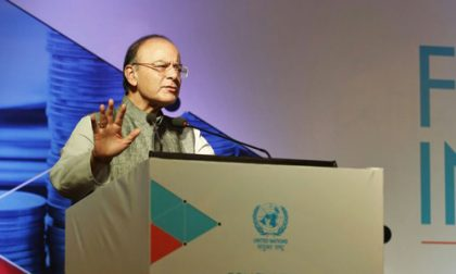 Finance Minister Arun Jaitley says zero balance accounts under PMJDY come down to 20% from earlier 77%