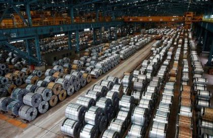 India slaps countervailing duty for period of 5 years on some Chinese steel products to guard domestic players