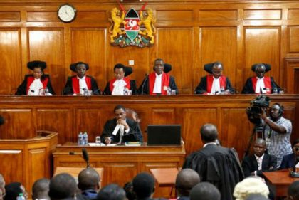 Kenya's SC annuls result of last month's presidential election