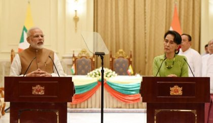 India, Myanmar sign 11 MoUs in a range of sectors