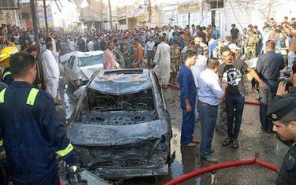 Iraq: At least 74 people killed, 93 injured in twin bomb blasts near Nasiriyah