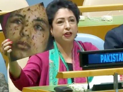 Pakistan's envoy to U.N. criticized for using fake image to malign India