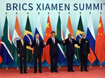 Xiamen BRICS declaration strongly deplores terrorism in all its forms, manifestations