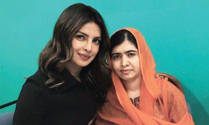 Priyanka meets Malala