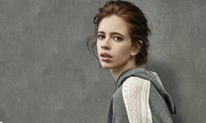 Kalki learns changing nappies