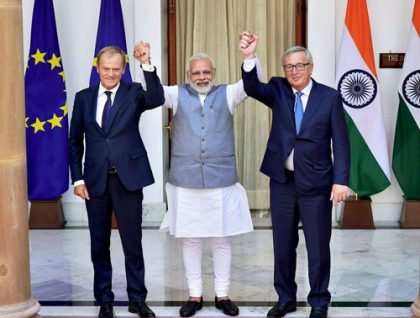India, EU agree on fighting against terrorism together