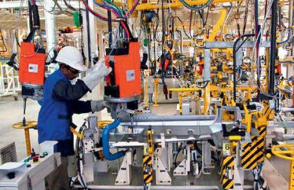 Production grows 7.5% in January