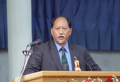 Neiphiu Rio sworn-in as Nagaland Chief Minister for the 4th time