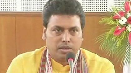 Biplab Deb to be new Chief Minister of Tripura