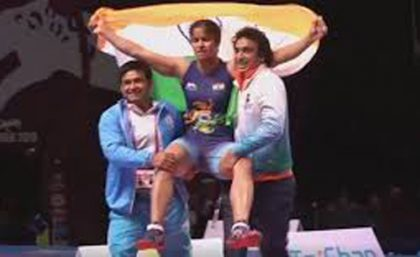 Navjot Kaur clinches India's first gold in Asian Wrestling Championships