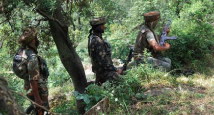 Security forces bust terrorist hideout in Poonch