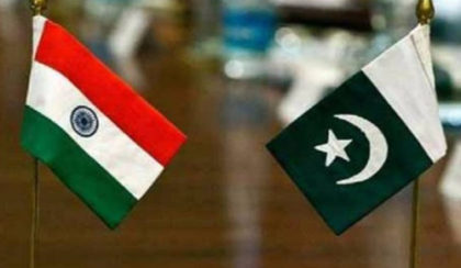 India lodges protest with Pakistan in flag meeting