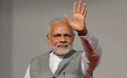 PM Modi in eastern UP, willoff the Varanasi-Ballia EMU train