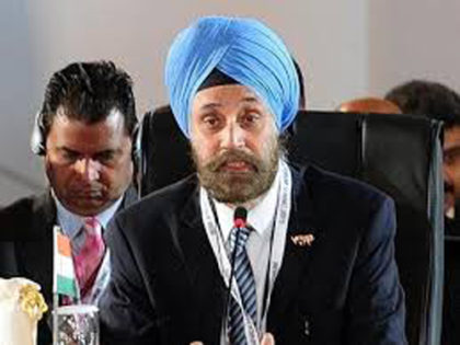 India hopeful of resolving both Iranian, Russian sanctions issue:Navtej Singh Sarna,Indian ambassador to US