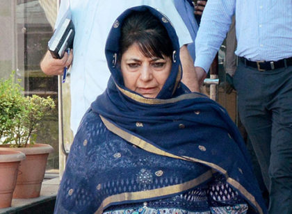 PDP MLAs on revolt, Mehbooba facing worst political crisis within her party.