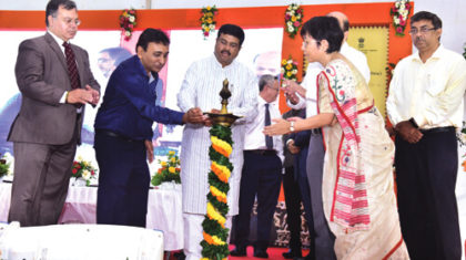 Dharmendra Pradhan lays the Foundation stone for  permanent campus for NSTI for Women in Mohali