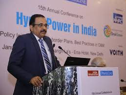 CMD, NHPC delivers address at Conference on 'Power Sector Development'