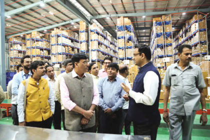 Central Warehouse of PMBJP inagurated at Bilaspur, Gurgaon