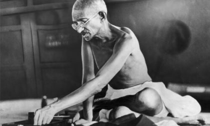 Mahatma Gandhi's pragmatic values  more relevant now more relevant now