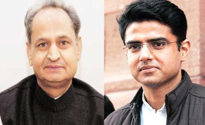 Ashok Gehlot appointed as Rajasthan CM, Sachin Pilot as deputy