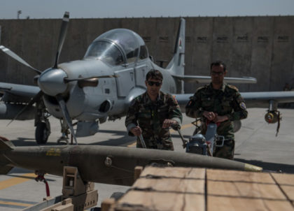 U.S. Spent $8 Billion on Afghanistan's Air Force