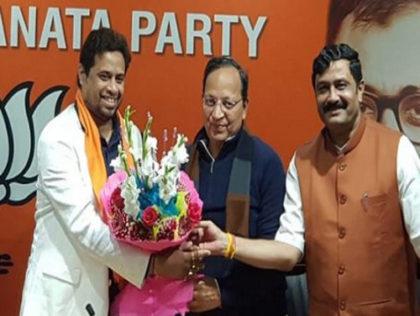 TMC MP Saumitra Khan joins BJP