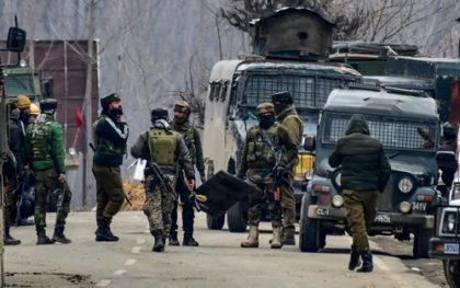 Three terrorists killed in Pulwama Encounter