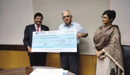 NALCO employees contributes one day salary to cyclone fani relief fund
